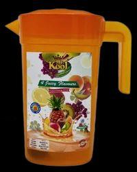 Mr.Kool 4 Juicy Flavor Instant Energy Drink Powder Jug(125 Gms X 4 Pcs )