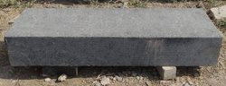 Outdoor Black Straight Flush Granite kerb, For Landscaping