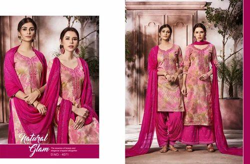 b3b204d4eb Cotton Embroidered Patiala Salwar Suit, Rs 799 /piece, Kessi Fabrics ...