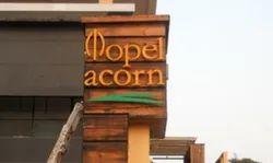 Metal Hotel Name Plate