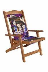 9 Kg Wooden Royal Folding Kids Chair