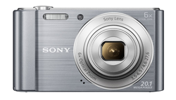 Sony Cybershot DSC-W810/SC 20.1MP Digital Camera Silver