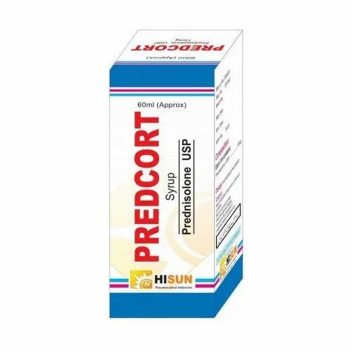 Predcort Prednisolone Syrup, Packaging Size: 60 ml