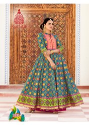Cotton Party Wear Mastani V-3 By Kajal Style Long Kurti, Wash Care: Dry Clean