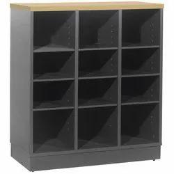 Fonzel Mild Steel Hole Cabinet with Base