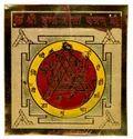 Golden Brass Durga Bisa Yantra