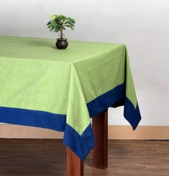 Cotton Chambray Table Cloth