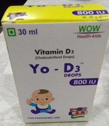 Vitamin D3 -Drops 400 I.U
