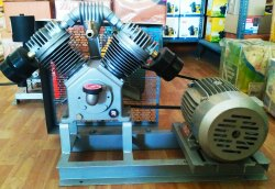 JSI Brand 3 HP Borewell Belt Compressor