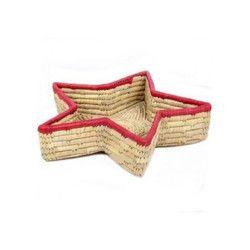 Bamboo Star Designer Basket