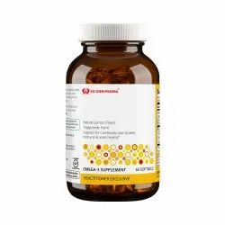 Natural Lemon Flavor Triglyceride Form Support For Cardiovascular System Immune and Joint Health