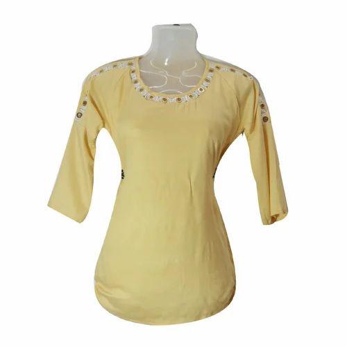 90744593c5b3e Women s Plain Top at Rs 110  piece