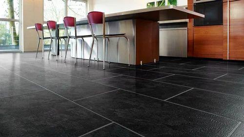 Black Handscraped Laminate Flooring Usage Indoor Outdoor Rs 120