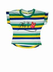 Intrend Girl's Striped T-Shirt