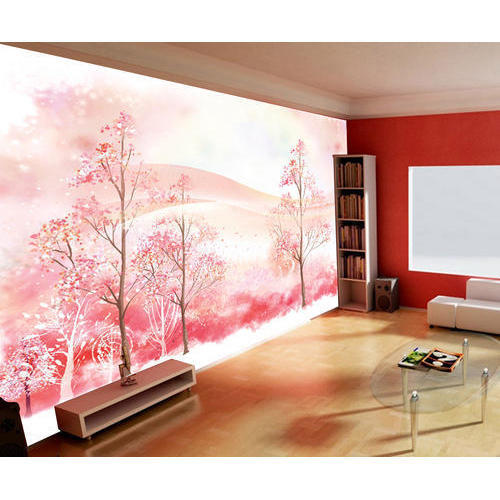 Living Room High Quality Wallpaper at Rs 80 /square feet | Nanded ...
