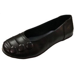 Shenaya Ladies Black Ballerinas Shoes, Size: 6-11