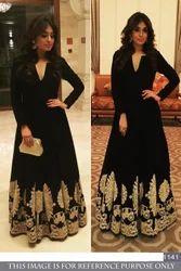 Fancy Heavy Bollywood Gown Lehenga