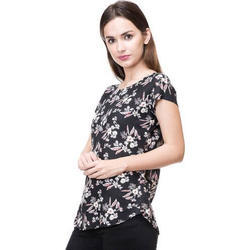Phonic S and XL Ladies Designer Floral Printed Tops