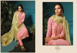 Ganga Launch Vanadey 7525-7530 Series Silk Designer Salwar Suits