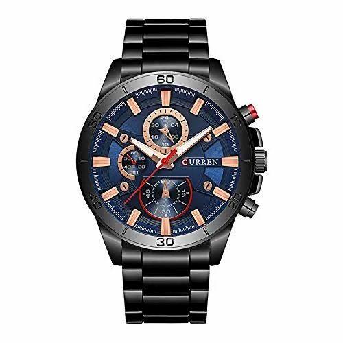 Analog Men Curren Mens Wrist Watch Rs 500 Piece Luxurit Id