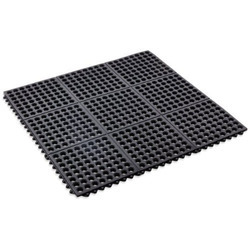 Checkered Electrical Rubber  Mat