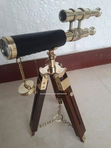 "BR4852A 5 /"" Antiqued Telescopew Box"