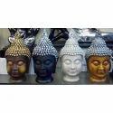 Brass  Gautam Buddha Statue Small Face