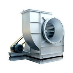 100 Kw Foot Mounted Industrial ID Fan, Impeller Size: 1680 Mm Diameter