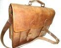 Leather Briefcase Shoulder Bag