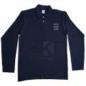 Custom Full Sleeve Polo T Shirt