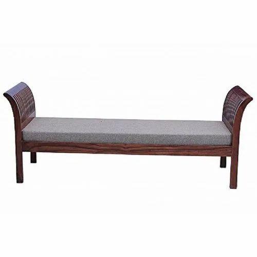 Mamta Decoration Wooden Backless Sofa