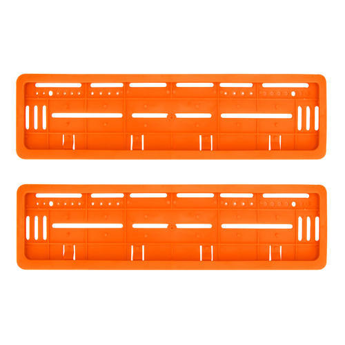 Dg Ventures Car License Plate Frame - Orange, Car Licensed Plate ...