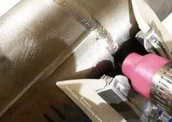 Titanium Trailing Shield for Purging