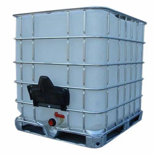 Plastic Chemical Ibc Tank Capacity 1000 L Rs 12 Litre Id