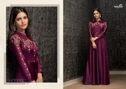 Designer Georgette Embroidery Gowns