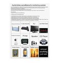 Audio Video Surveillance Monitoring System