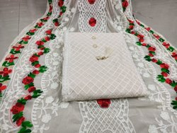 Chain Stitch Work Designer Suits Indian Style