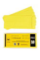 Yellow Laminated Envelop