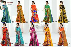Indian Dani Fabric Saree