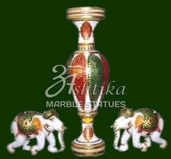 Marble Rajasthni  Statues