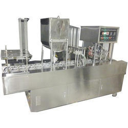 SS Automatic Cup Filling & Sealing Machine