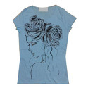 Girls Cotton Printed Top, Size: S, M & L