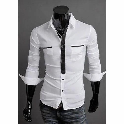 194fd07ce6ec Cotton Mens Designer Plain Shirt, Rs 450 /piece, Gautam Enterprises ...