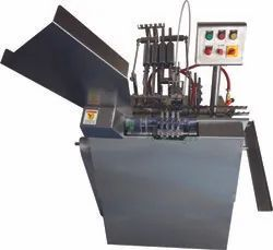 Automatic Two Head Ampoule Filling And Sealing Machine