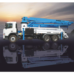 Schwing S36X Truck Mounted Concrete Boom Pump, Capacity: 98 M3/h