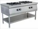 SS Two Burner Cooking Range