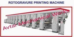 Polyester Film Rotogravure Printing Machine