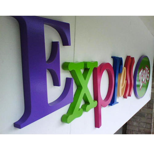 Acrylic 3d Letter Sign Board