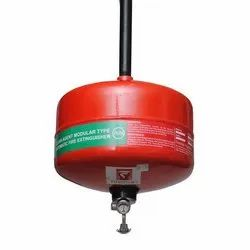 Carbon Steel A B C Dry Powder Type Modular Fire Extinguisher, For For Fire Safety