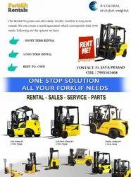 Loaders Forklift Rental Service for Industrial